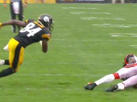 Watch: Adam Jones picks off Ben Roethlisberger
