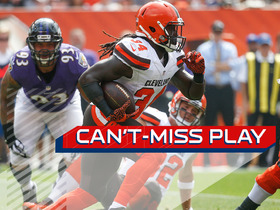 Watch: Can't-Miss Play: Isaiah Crowell breaks free for 85-yard touchdown