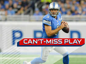 Watch: Can't-Miss Play: Stafford fires a rocket to Boldin