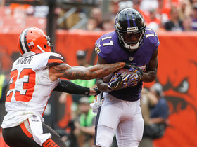 Watch: Joe Flacco throws to Mike Wallace for a 7-yard TD