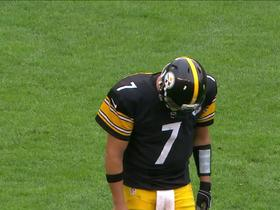 Watch: Roethlisberger intercepted by Kirkpartick