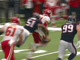 Watch: Alex Smith fumbles after hit by John Simon