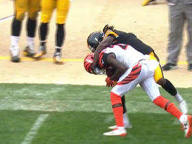 Watch: Ben Roethlisberger throws deep interception