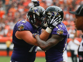 Watch: Joe Flacco throws deep to Mike Wallace for 17-yard touchdown