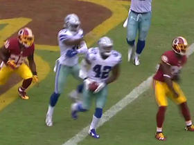 Watch: Barry Church intercepts Kirk Cousins in end zone