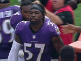 Watch: C.J. Mosley picks off Josh McCown for game-winning interception