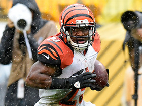 Watch: Giovani Bernard fumbles to end the game