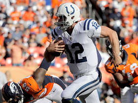 Watch: Andrew Luck scrambles for a 21-yard first down