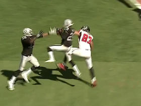 Watch: Matt Ryan intercepted by David Amerson