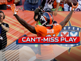 Watch: Can't-Miss Play: Aqib Talib snags pick 6 off Andrew Luck