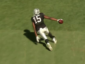Watch: Derek Carr finds Michael Crabtree for a 2-yard TD