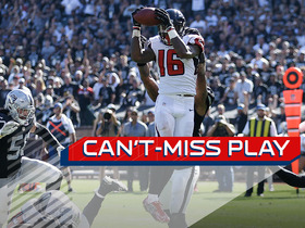 Watch: Can't-Miss Play: Hardy comes down with ricochet TD catch