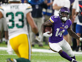 Watch: Stefon Diggs runs free for 46 yards