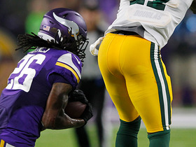 Watch: Trae Waynes come up with huge interception on Aaron Rodgers