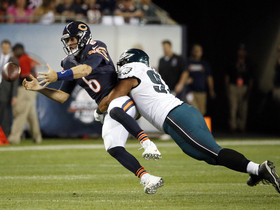 Watch: Bears struggle with ball security vs. Eagles