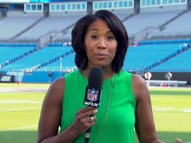 Watch: Blackmon: Increased police presence outside Bank of America Stadium
