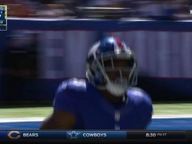 Watch: Eli Manning finds Bobby Rainey for 24 yards