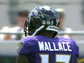 Watch: Mike Wallace shows his agility with a 12-yard gain