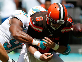 Watch: Cody Kessler fumbles Dolphins recover