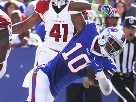 Watch: Robert Woods goes full-body dive to haul in 24-yard catch