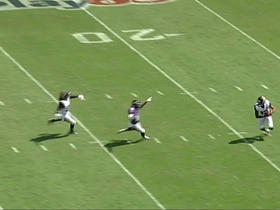 Rashad Greene evades defenders as he returns a punt for 42 yards