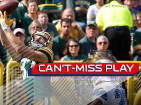 Watch: Can't-Miss Play: Jordy Nelson makes a great catch for TD