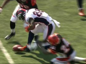 Watch: Adams Jones forces Demaryius Thomas fumble, Bengals recover