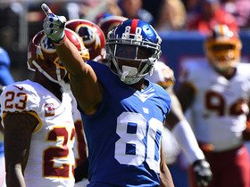 Watch: Eli Manning hits Victor Cruz for 37 yards