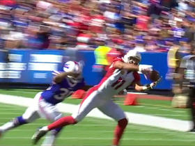 Watch: Larry Fitzgerald makes sideline catch for 12-yards