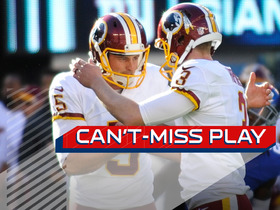 Can't-Miss Play: Redskins punter shows off arm on fake