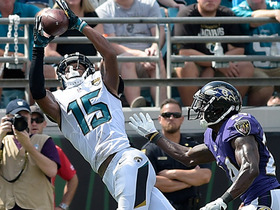Watch: Allen Robinson TD catch reviewed by referees