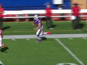 Tyrod Taylor hits Nick O'Leary for 28 yards