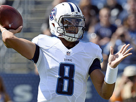 Mariota hits Douglas over the middle for 25 yards