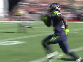 Watch: Christine Michael rushes untouched for a 41-yard touchdown