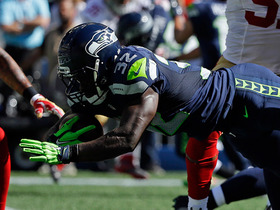 Watch: Christine Michael runs up the middle for a 4-yard TD