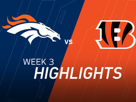 Watch: Broncos vs. Bengals highlights