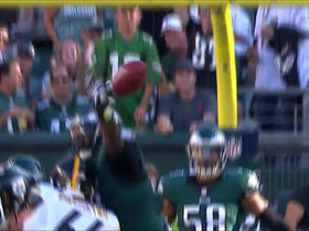 Eagles block Steelers 36-yard field goal