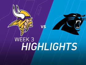 Watch: Vikings vs. Panthers highlights