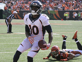 Watch: Every Emmanuel Sanders catch from Week 3
