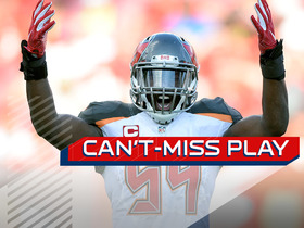 Watch: Can't-Miss Play: David forces fumble Buccaneers recover