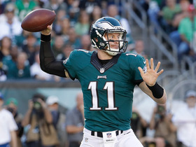 Watch: Wentz starts off hot, 12-yard strike to Matthews