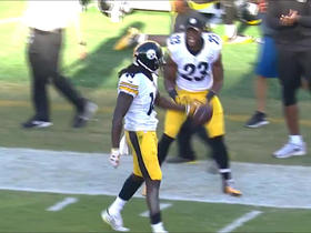 Watch: Ben Roethlisberger finds Sammie Coates deep for 41 yards