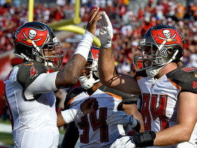 Watch: Jameis Winston scrambles, finds Cameron Brate for TD