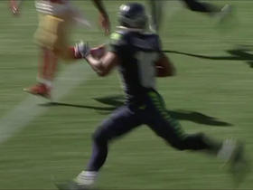 Watch: Tyler Lockett rushes for 62 yards on punt return