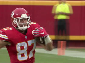 Watch: Alex Smith hits Travis Kelce for 42 yards