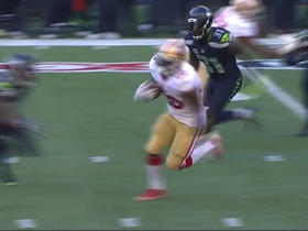 Watch: Carlos Hyde rushes for a 34-yard gain