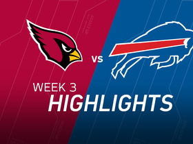 Watch: Cardinals vs. Bills highlights