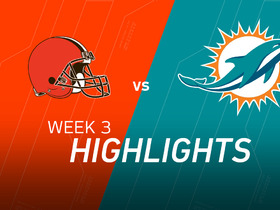 Watch: Browns vs. Dolphins highlights