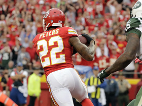Watch: Ryan Fitzpatrick intercepted by Marcus Peters for the second time