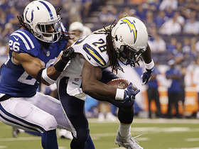 Watch: Melvin Gordon rushes for a 25-yard gain
